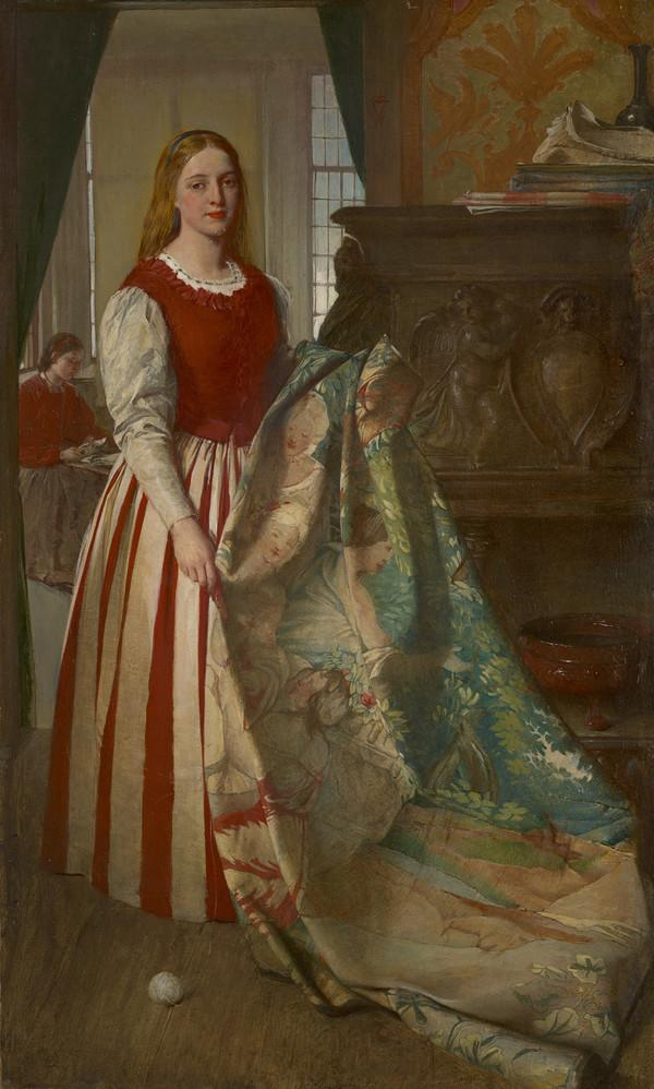 The Tapestry Worker (1866)