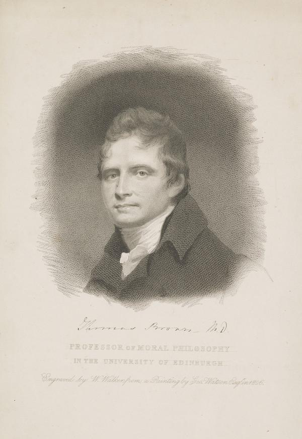 Dr Thomas Brown, 1778 - 1820. Professor of Moral Philosophy, Edinburgh University (1806)
