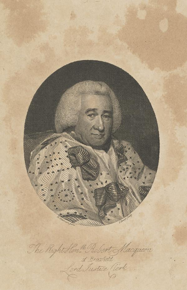 Robert Macqueen, Lord Braxfield, 1722 - 1799. Lord Justice Clerk