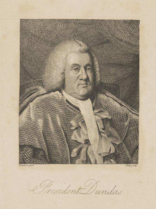 Robert Dundas, Lord Arniston, 1713 - 1787. Lord President of the Court of Session