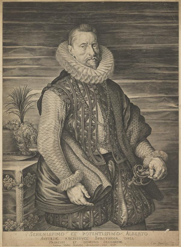 Albert, Archduke of Austria, 1559 - 1621 (Albrecht the Pious). Governor of the Netherlands