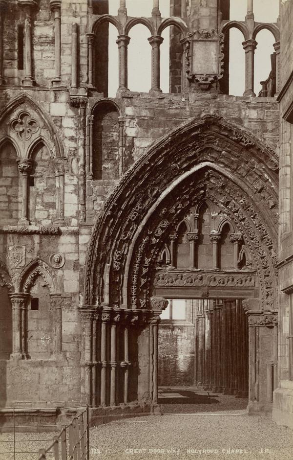 Great Doorway, Holyrood Chapel Edinburgh