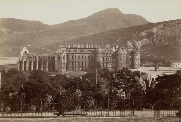 Holyrood Palace and Arthur's Seat, Edinburgh