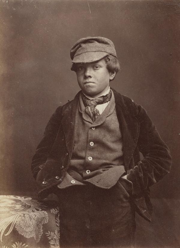 Unknown boy (About 1861)