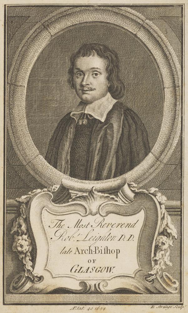 Robert Leighton, 1611 - 1684. Archbishop of Glasgow