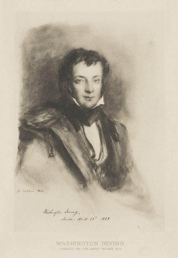 Washington Irving, 1783 - 1859. Statesman and author