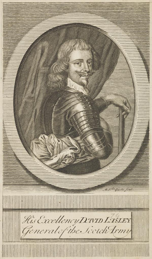 David Leslie, 1st Lord Newark, d. 1682. Royalist general