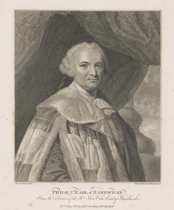 Philip Yorke, 2nd Earl of Hardwicke, 1720 - 1790 (Published 1799)