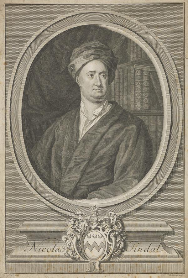 Nicolas Tindal, 1687 - 1744. Chaplain to Greenwich Hospital; historian