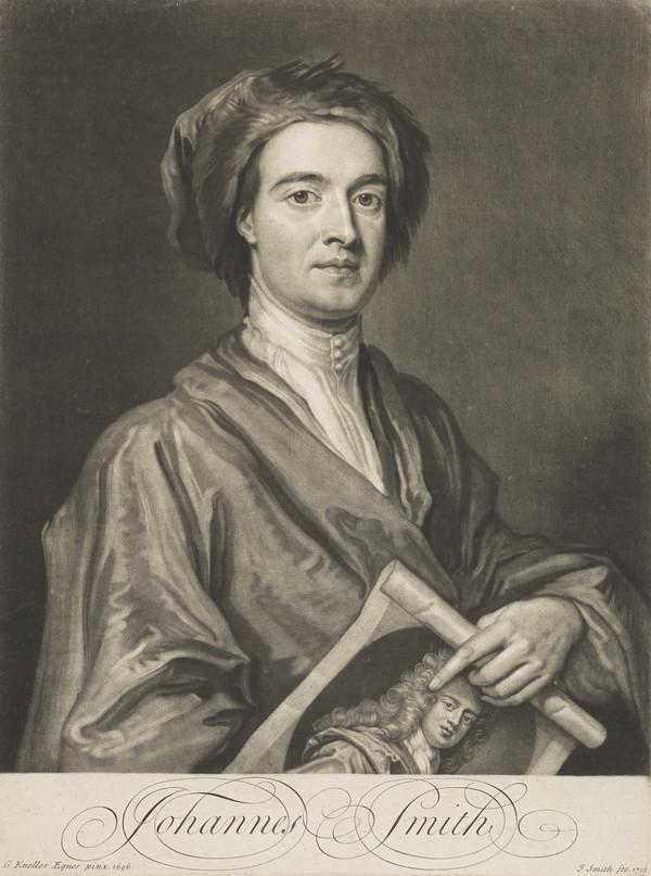 John Smith. Engraver (self-portrait) (1716)