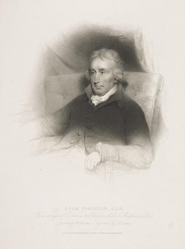 Professor Adam Ferguson, 1723 - 1816. Philosopher and author (Published 1815)