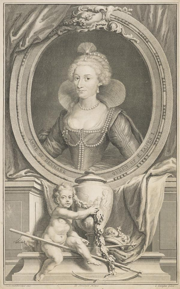 Anne of Denmark, 1574 - 1619. Queen of James VI and I