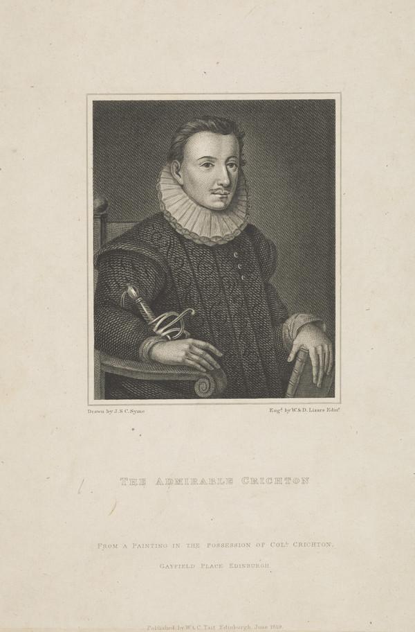 James (the Admirable) Crichton, 1560 - c 1585. Scholar and adventurer