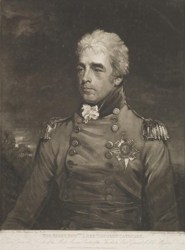 General Sir William Schaw, 10th Baron and 1st Earl of Cathcart, 1755 - 1843. Diplomat and soldier (Published 1807)