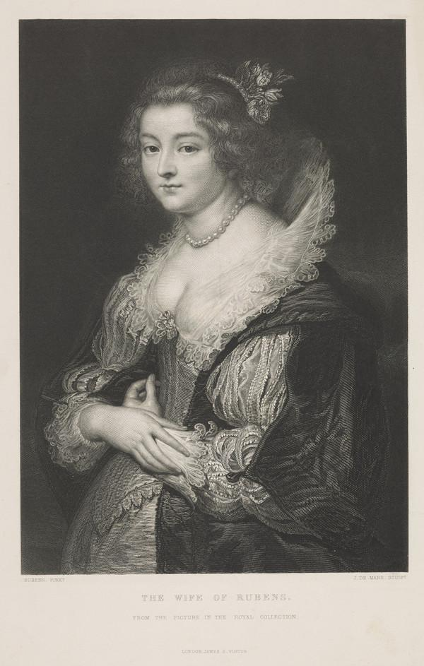 Isabella Brandt, 1591 - 1626. First wife of Peter Paul Rubens