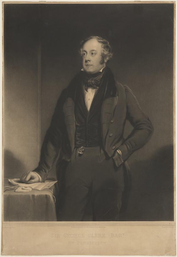 Sir George Clerk of Penicuik, 1787 - 1867