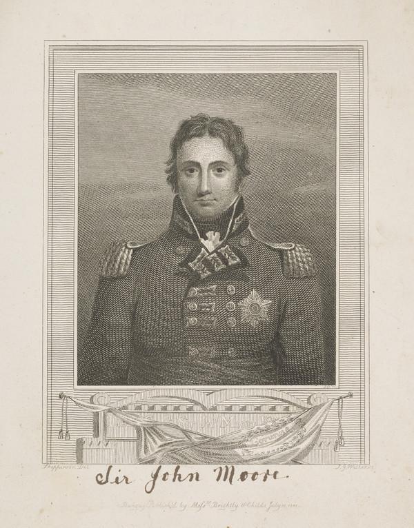 Lieutenant-General Sir John Moore, 1761 - 1809. Soldier (1815)