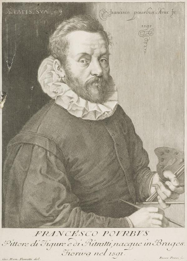 Frans Pourbus the Elder, 1545 - 1581. Artist