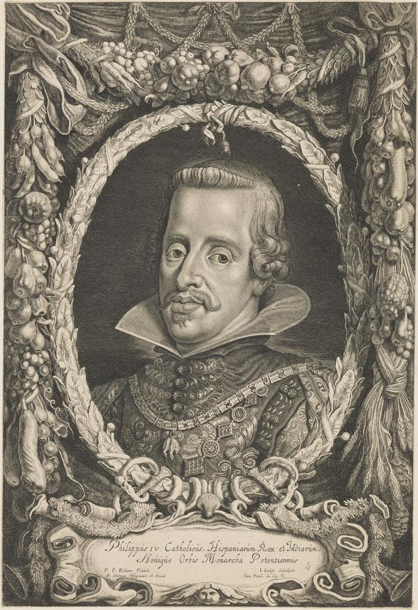 Philip IV, 1605 - 1665. King of Spain
