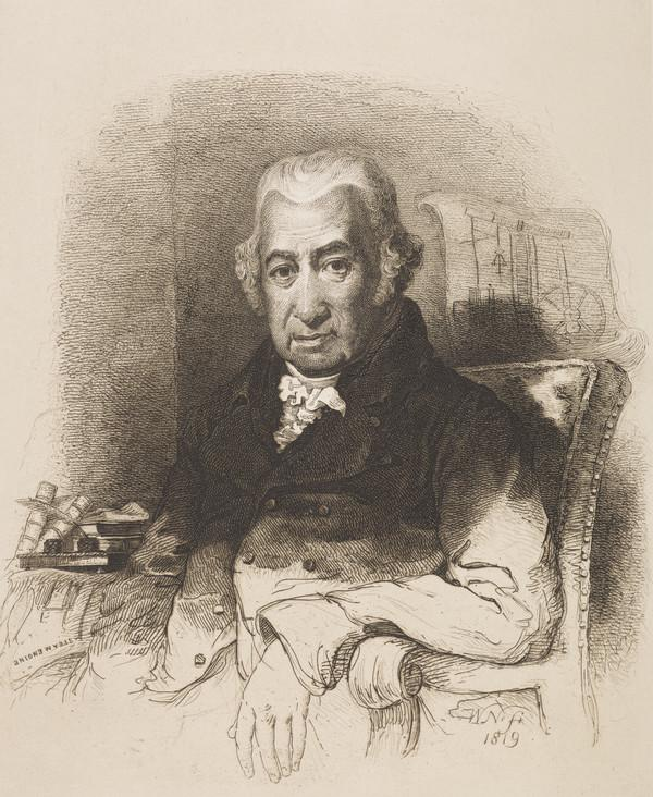 James Watt, 1736 - 1819. Engineer, inventor of the steam engine (1819)