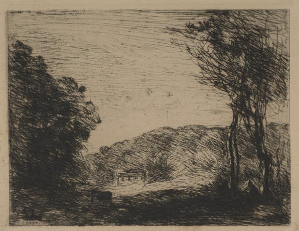 Landscape with a Small Cottage