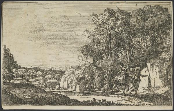 The Flight into Egypt (About 1630 - 1633)