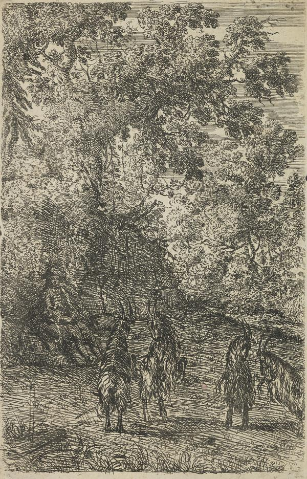 The Four Goats (About 1630 - 1633)