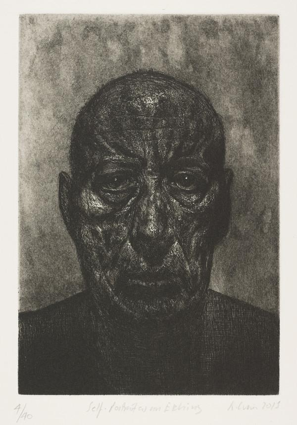 Self Portrait as an Etching