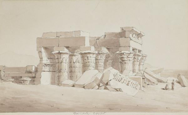 Egyptian Temple (about 1838)