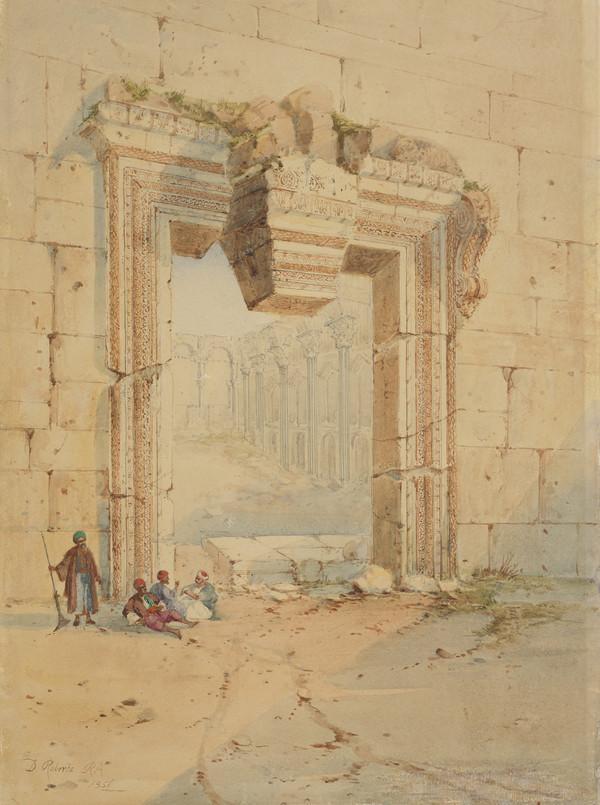 The Gateway, Baalbec (1838 - 1839)