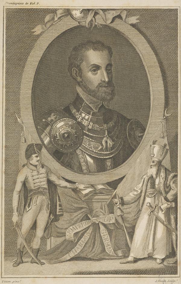 Charles V, 1500 - 1558. Holy Roman Emperor