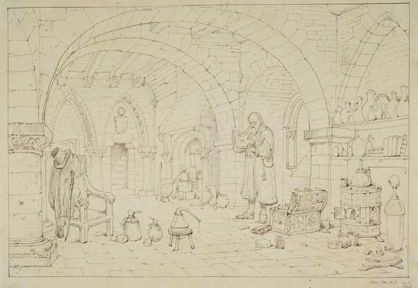 The Alchemist (Dated 12th January 1845)