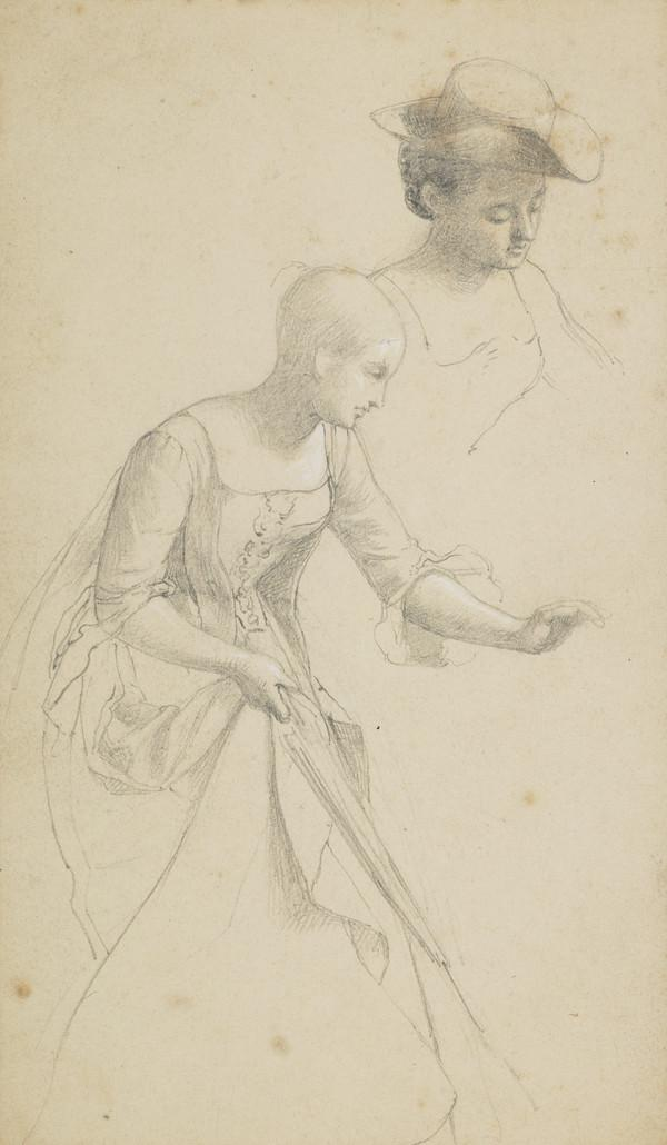 Study of Two Young Women