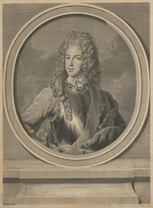 Prince James Francis Edward Stuart, 1688 - 1766. Son of James VII and II (About 1715 - 1718)