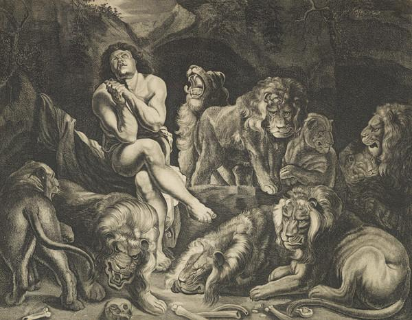 Daniel in the Lions' Den (About 1776)