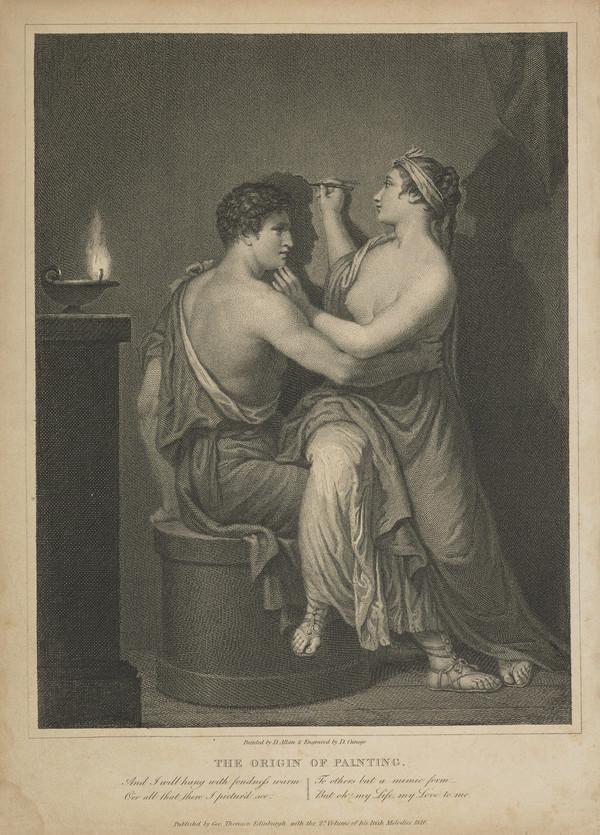 The Origin of Painting (1776 / 1816)