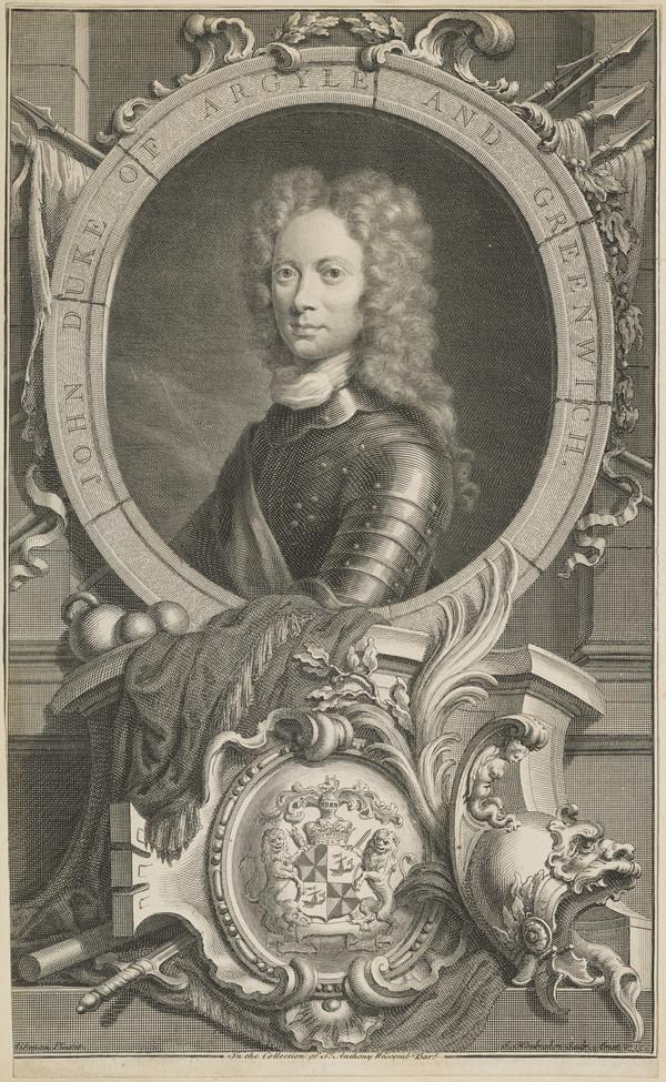 John Campbell, 2nd Duke of Argyll and Greenwich, 1678 - 1743. Soldier and statesman (1735)