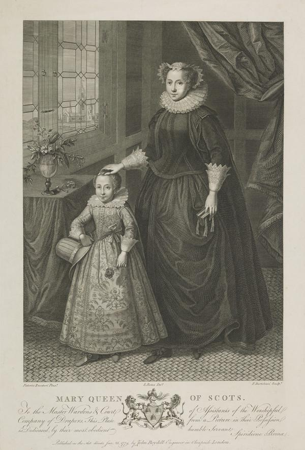 Mary, Queen of Scots, 1542 - 1587. Reigned 1542 - 1567 (1779)