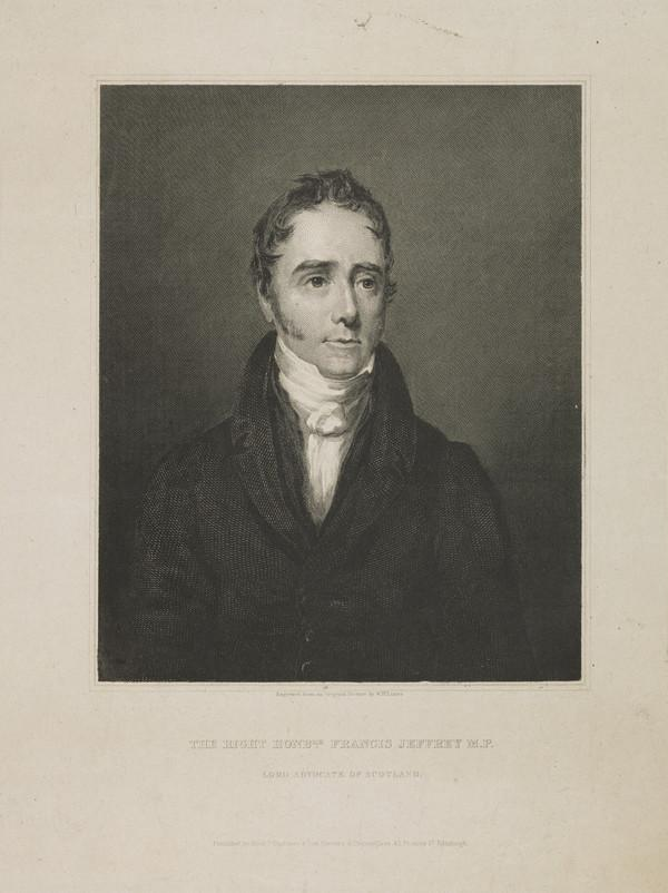 Francis Jeffrey, Lord Jeffrey, 1773 - 1850. Judge and critic