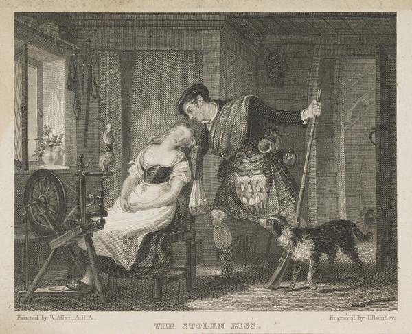 The Stolen Kiss (1828)