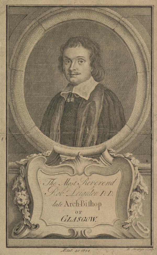Robert Leighton, 1611 - 1684. Archbishop of Glasgow (1758)