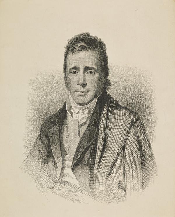 James Hogg, 1770 - 1835. Poet; 'The Ettrick Shepherd' (1817)