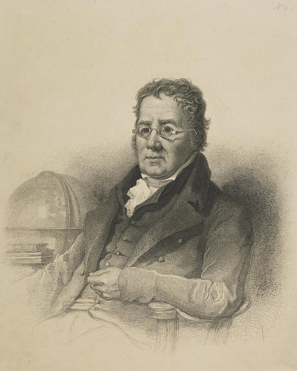 Professor John Playfair, 1748 - 1819. Mathematician (1819)