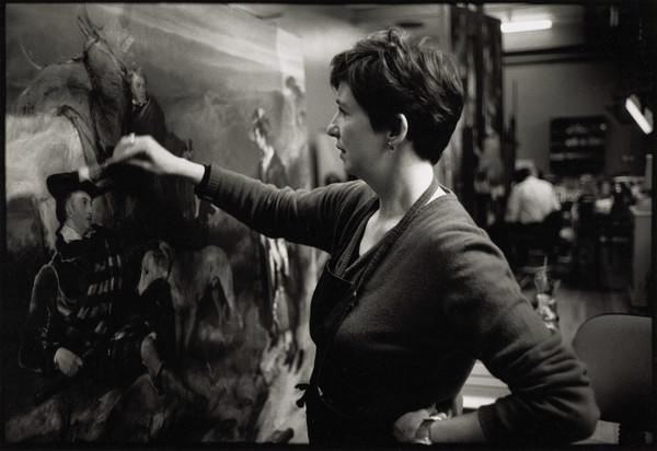 Lesley Stevenson, Paintings Conservator, Conservation Department, Scottish National Gallery of Modern Art, Edinburgh (2001)
