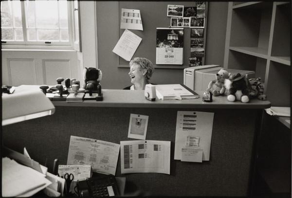 Jackie Gilchrist, Accounts Assistant, Finance Department, Dean Gallery, Edinburgh