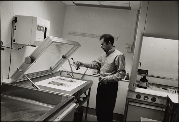 Graeme Gollan, Senior Conservator, Conservation Department, Scottish National Gallery of Modern Art, Edinburgh