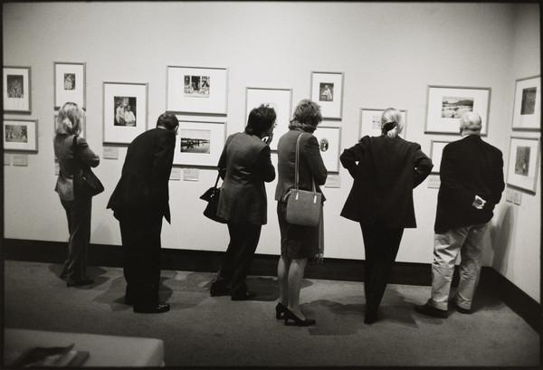Private View of 'The Fine Art of  Photography' exhibition, Scottish National Portrait Gallery, Edinburgh (2001)