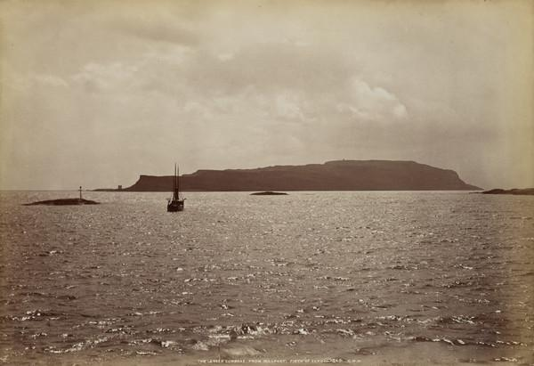 The Lesser Cumbrae from Millport, Firth of Clyde