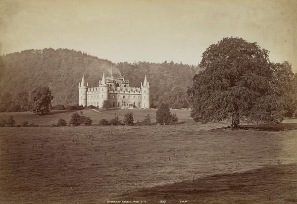 Inveraray Castle from the South-East