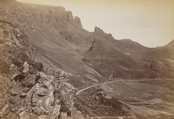 The approach to the Quiraing, Skye